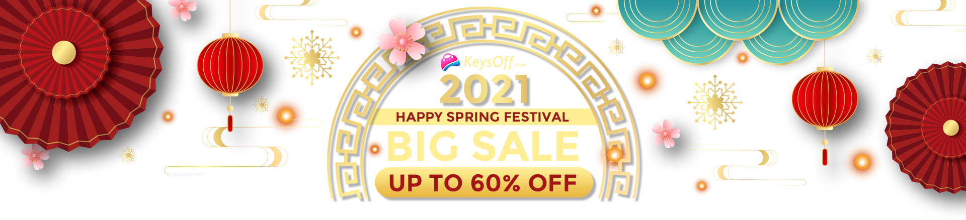 happy spring festival big sale 2021