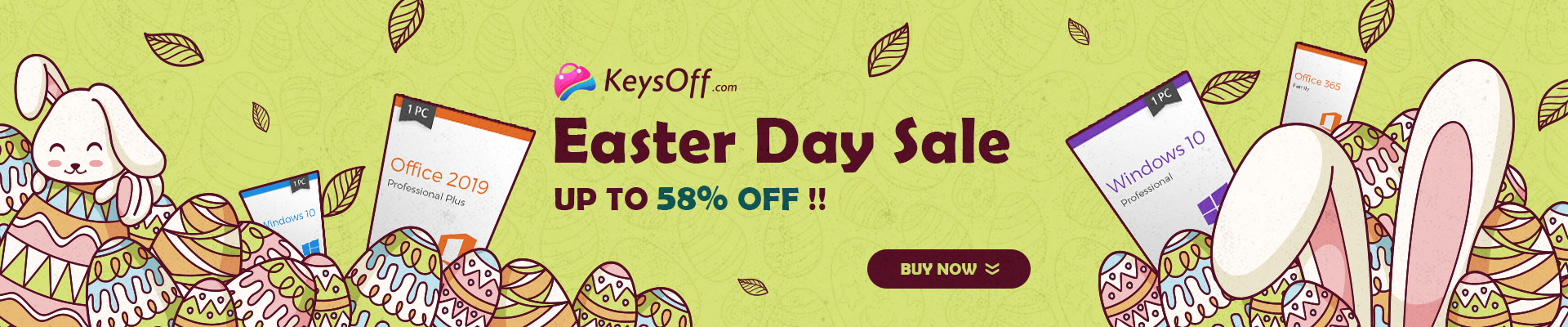 2021 easter day sale